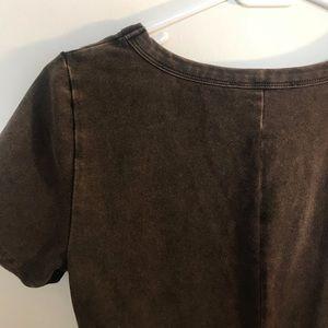 Forever 21 Tops - Copper/brown Bodysuit - Forever 21